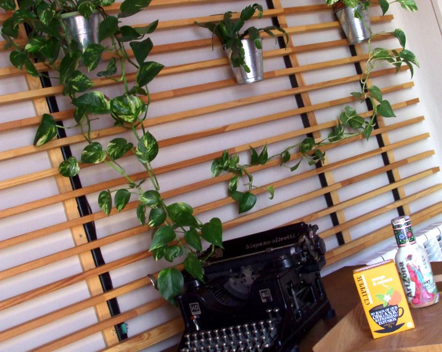 Un jard n vertical en casa - Jardin vertical en casa ...