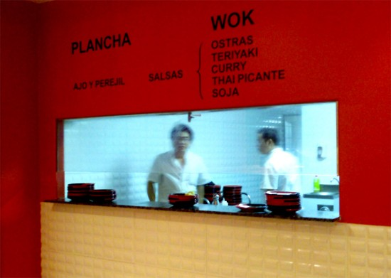 wok restaurant madrid