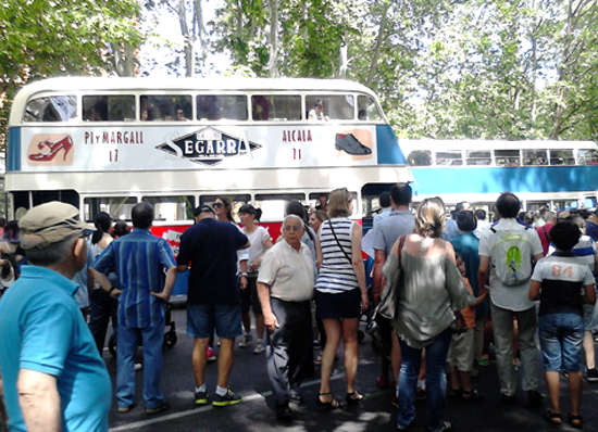 Muestra de autobuses