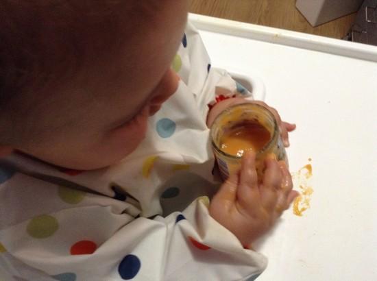 hero baby solo ingredientes comiendo