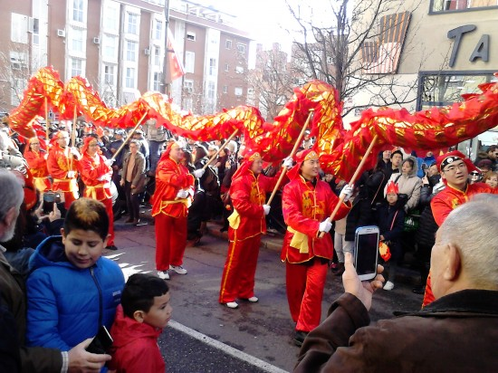 Año nuevo chino Madrid 2019 con niños