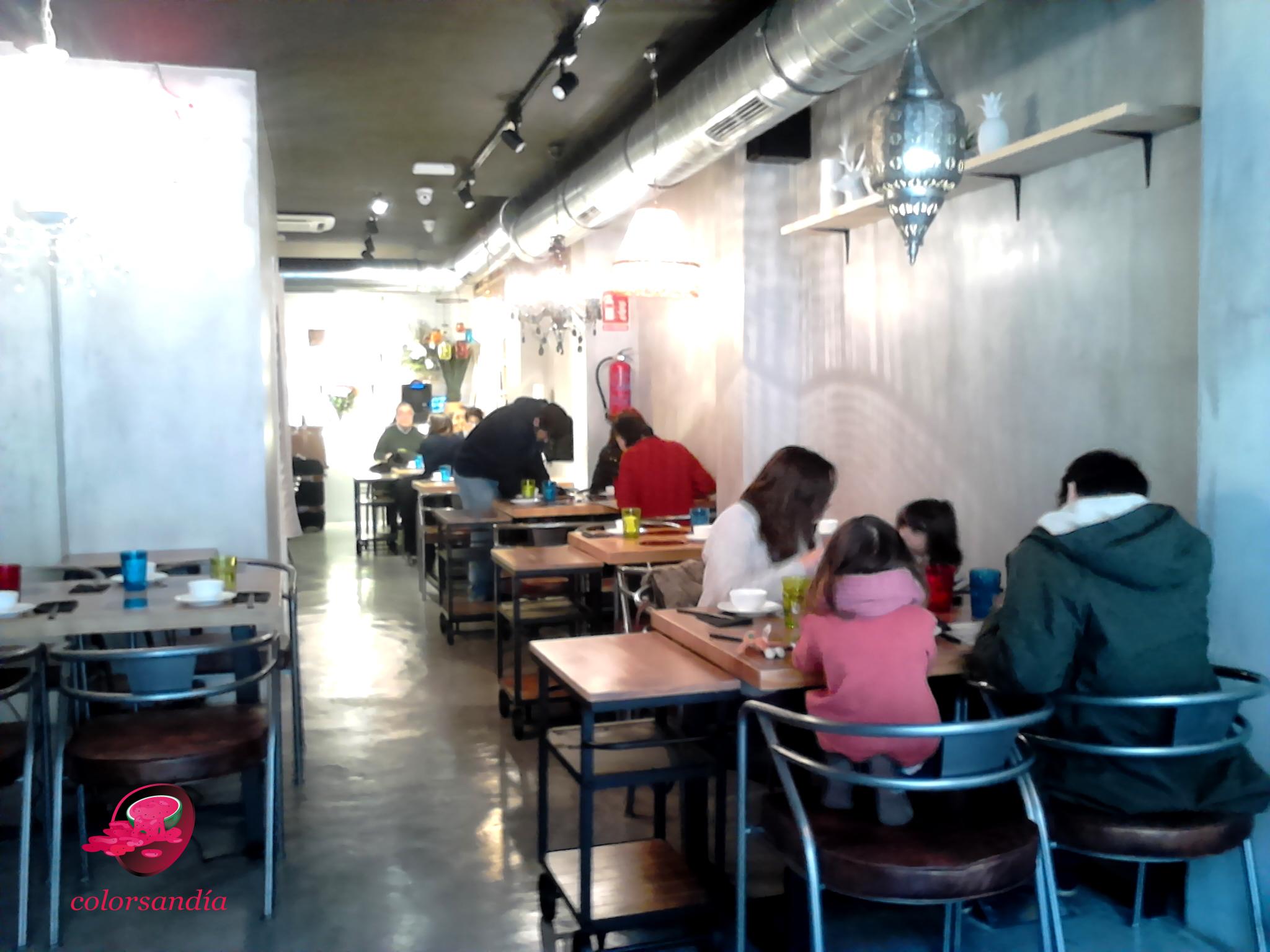 Fondue china en un restaurante de dise o industrial - Restaurante chino jardin feliz ...