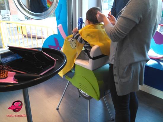 Sorteo peluqueria pabletes moto bebe