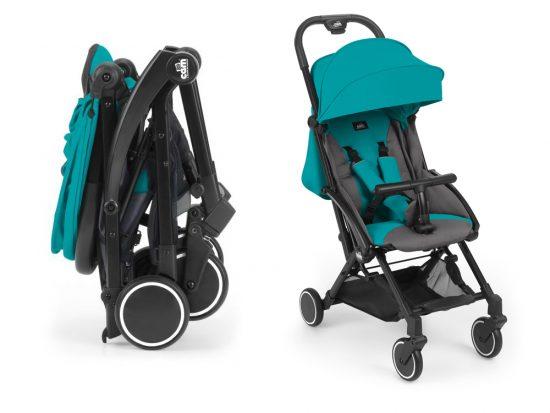 sillas de bebe para avión compactas. cubo
