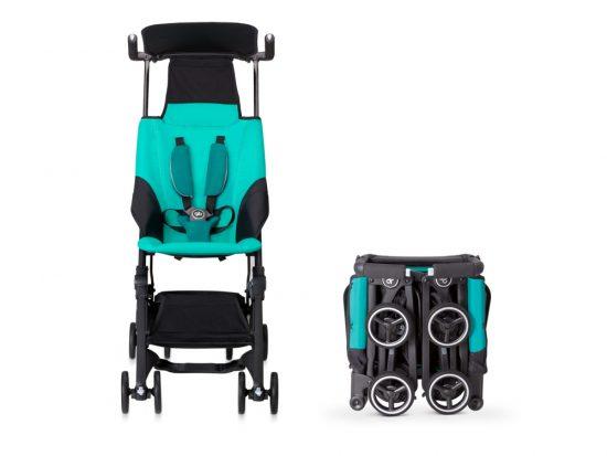 sillas de bebé para avión compactas. pockit