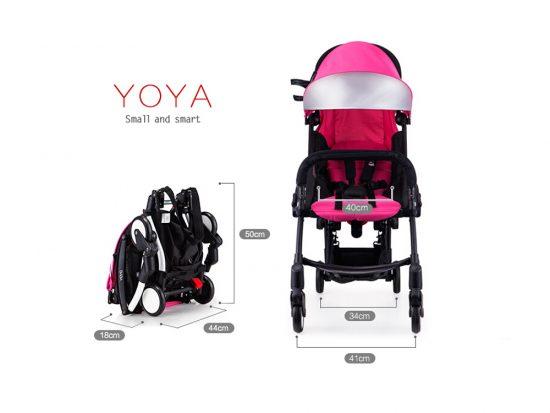 sillas de bebé para avión compactas. yoya