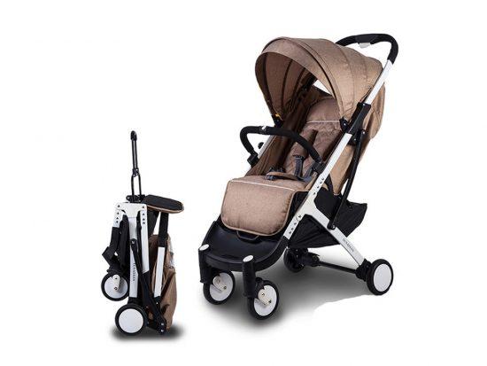 sillas de bebé para avión compactas. baby yoya plus