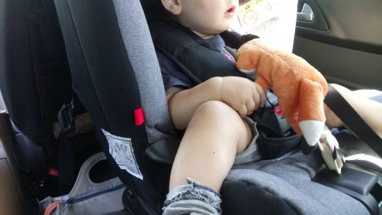 silla de coche de niño