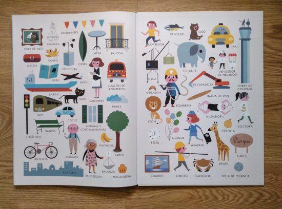 Libro gigante. La ciudad. Página resumen