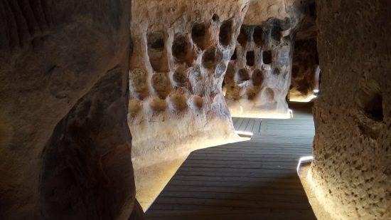 Cuevas de Arnedo. Interior