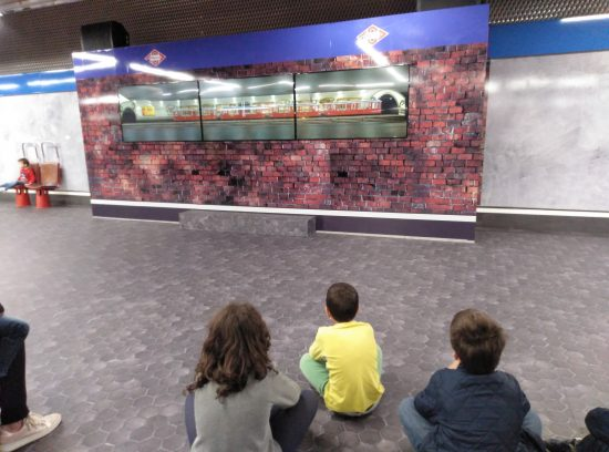 Exposición del centenario del Metro de Madrid. Vídeo explicativo