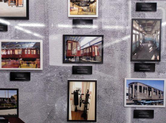 Exposición del centenario del Metro de Madrid. Fotos restauración