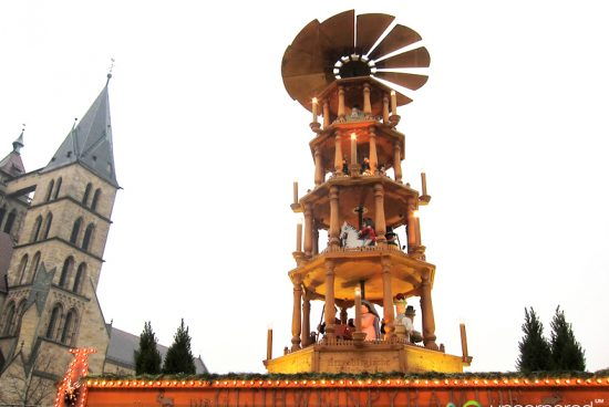 Pirámide de Navidad