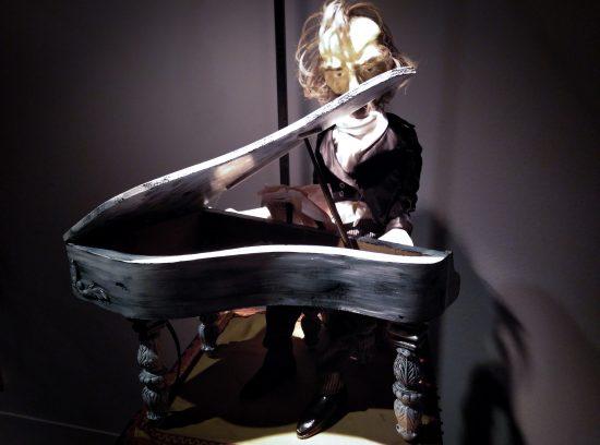 Madrionetas : Autómata pianista