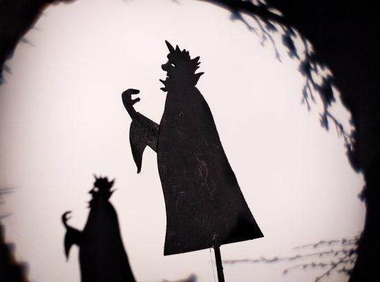 Madrionetas : teatro de sombras