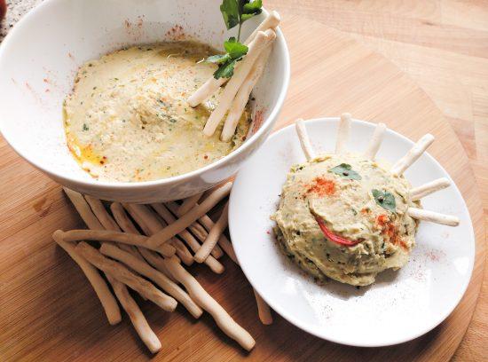 Cómo integrar las verduras en la dieta de los niños: humus de acelgas