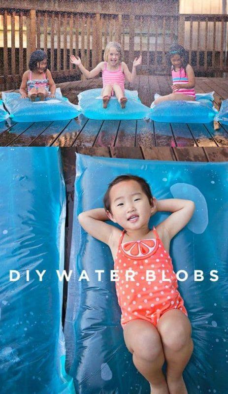 Juegos de agua alternativos a los globos: water blob