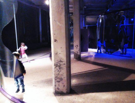 Teatro sin fin. Nueva instalación para niños en Matadero Madrid.