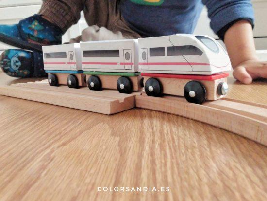 Plantillas descargables de trenes
