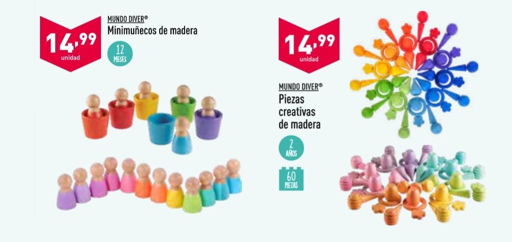 juguetes montessori en aldi