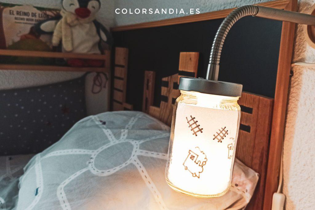 Lámpara vintage DIY