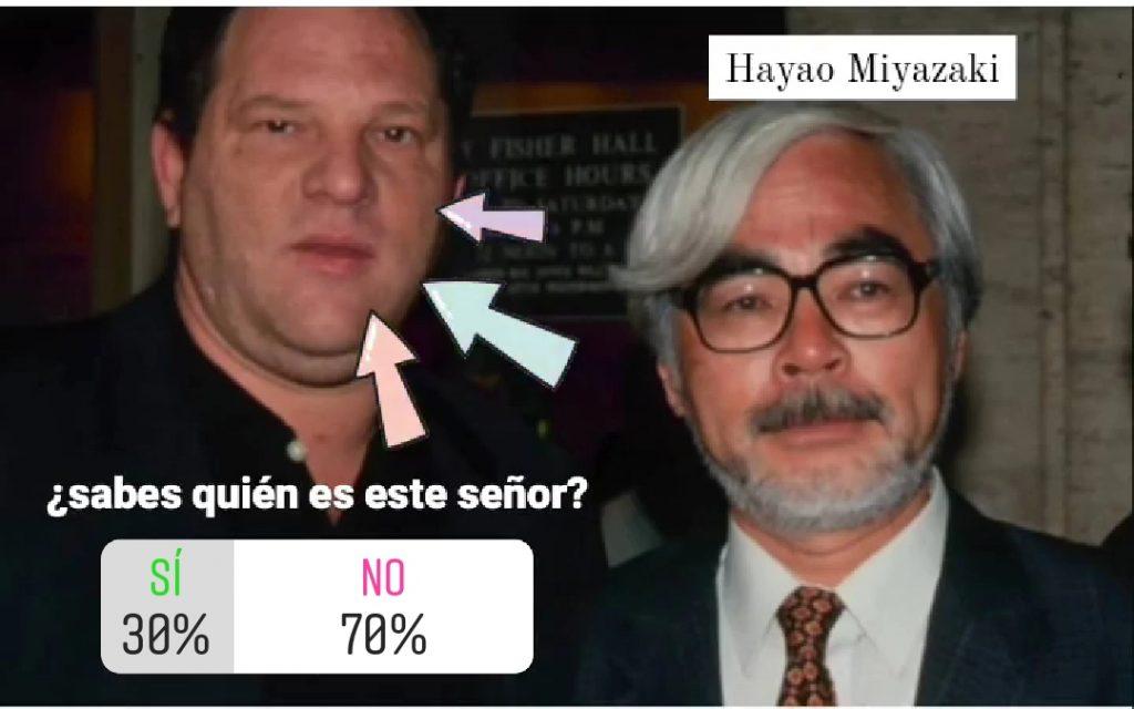 Harvey Weinstein y Hayao Miyazaki